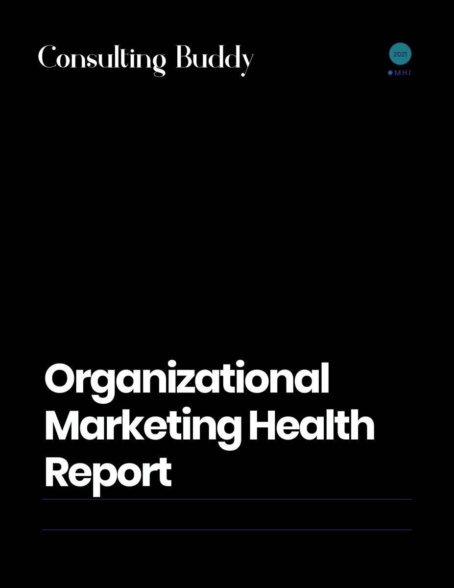 Organizational Marketing Health Report